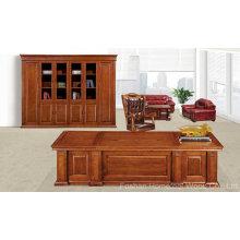 Antique Design Solid Wood Executive Office Manager Mobilier de bureau (HF-YT8A03)