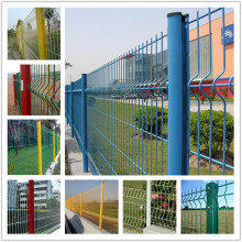 Wire Mesh Fence Med Curves 3D Fence