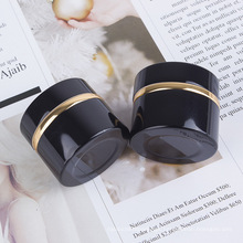 Round Design Acrylic Cosmetic Face Cream Jars