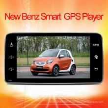 DVD del coche para el navegador elegante del GPS de Mercedes-Benz