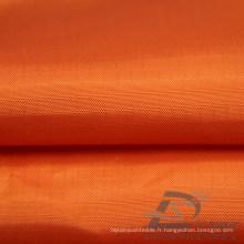 Imperméable à l'eau et à l'extérieur Vêtements de sport en plein air Veste en bas Tissé Tafet Plaid Jacquard 100% Tissu en polyester (63046)