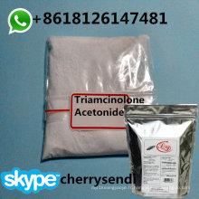 Hormone corticostéroïde CAS 76-25-5 de poudre topique de l'acétonide de 99,8% de triamcinolone