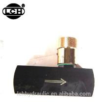 material ss316 da válvula de agulha de alta pressão