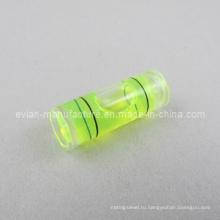 Цилиндрический флакон уровня спирта (диаметр / 8 мм X длина / 22 мм)