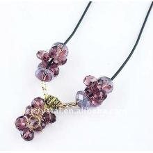 Collar cristalino, venta al por mayor de la joyería del collar, collar de la manera