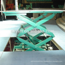 Hydraulic stationary miniature scissor lift