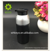30ml Hot sale high quality make up packing black colored empty cosmetic Airless pump lotion bottle for man