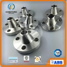 Bride forgée de cou de soudure de Pn20 d'acier inoxydable duplex (KT0373)
