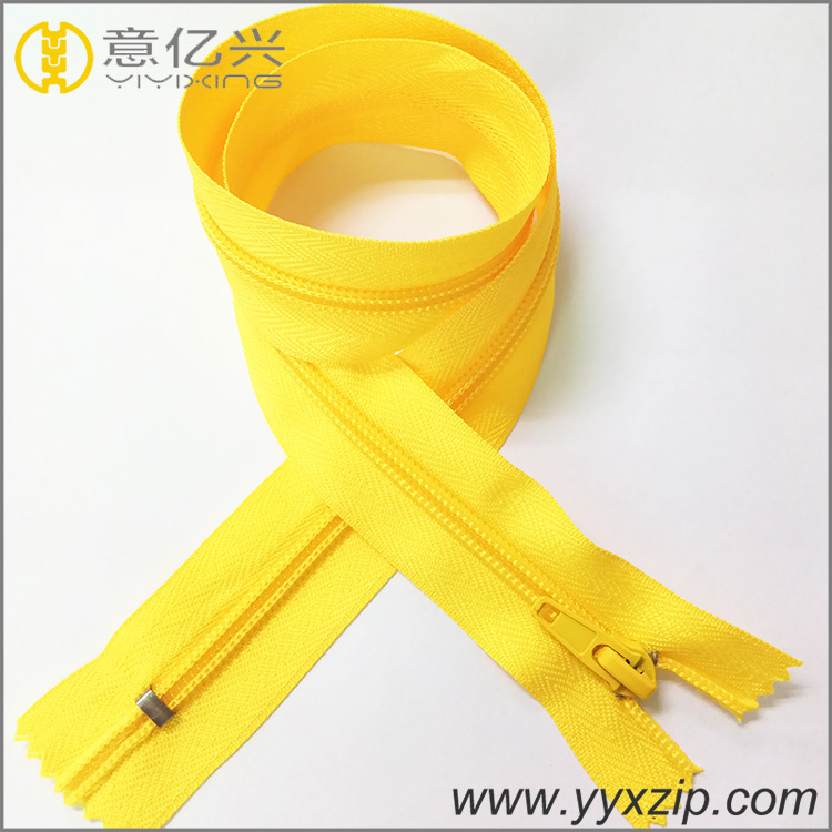 Ordinary Teeth Nylon Zipper