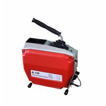 Máquina de limpieza de desagüe de alcantarillado por cable D150, fácil de usar y de poco ruido