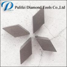 Segment de meulage de surface de plancher en pierre concrète pour la rénovation et le meulage