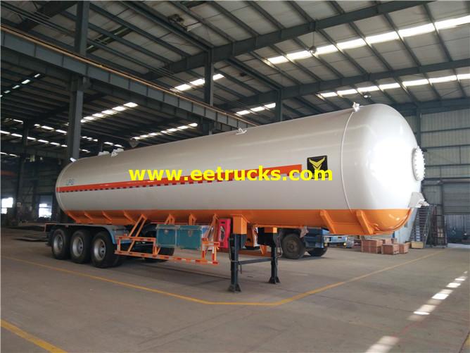 Tri-axle LPG Tanker Trailers