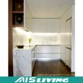 U-Form Doppelfarben Küchenschränke Möbel (AIS-K973)