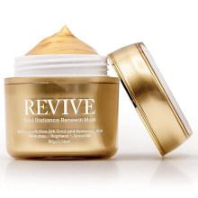OEM Custom Skin Brightening Anti-Aging Treatment 24K Gold Facial Mask