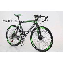 Bicicleta de estrada chinesa com alto teor de carbono de alta qualidade, bicicleta de corrida