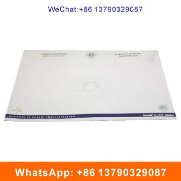 Степень сертификат с водяными знаками и горячего тиснения этикетки
