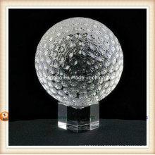 Кристалл гольф мяч для подарка