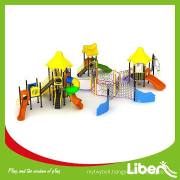 Amusement Park Large Adventure Kids Long Tube Slides/Outdoor Playground with Climbing Structures