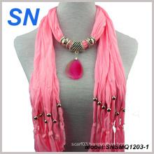 Fashion Jesery Jewelery Scarves (SN1203-1)