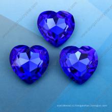 Сердце Ювелирные Изделия Бусины Камни Стразы