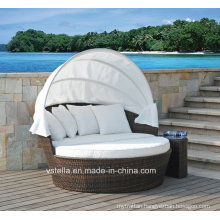Patio Wicker Garden Rattan Outdoor Daybed