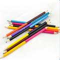 crayon de couleur double face en bois sur mesure