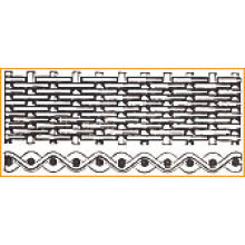 Tejido de tela de alambre holandés liso - malla de alambre de acero inoxidable