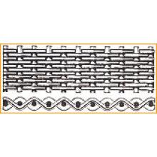 Malha de arame de aço inoxidável de pano-fio de aço inoxidável holandês liso