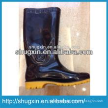 2014 good quality coach pvc rain boots