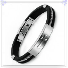 Jewelry Fashion Rubber Bracelet Silicone Bracelet (LB546)