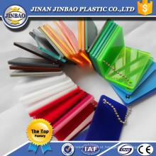 folha de plexiglass de 15mm de alta qualidade decorativa de alto brilho