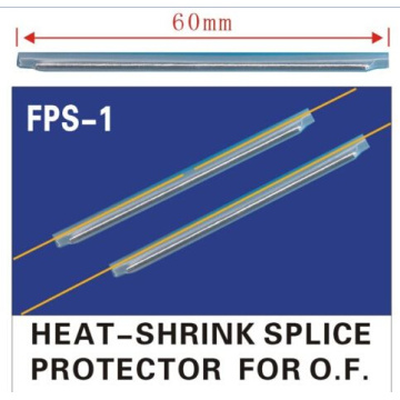 clear fiber optic fusion splice protection sleeves