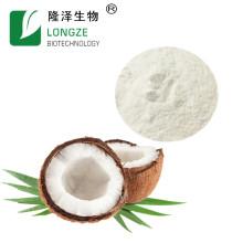 Хороший водорастворимый порошок кокосового молока белого цвета