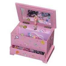 Caixa de jóias de couro / caixa de música de papel 3D / caso de jóias de música 3D (MX-313)