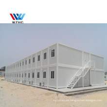 Temporary Fast Install 20ft Detachable Flat Pack Prefab Container House Prefabricate Tiny Houses for Worker Camp Office Use