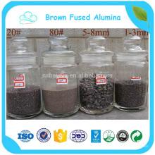 Alumine F36 brun diplômée par Iso pour le soufflage de sable