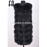 Factory direct wholesale real fox fur vest waistcoat