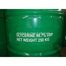 Glicerina refinada y cruda (70% 80% 98% 99% 99.5% 99.7%)