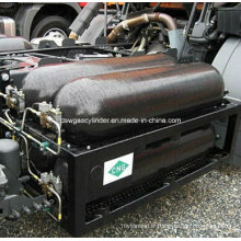 Cylindre de gaz haute pression pour magasin CNG, 100L, Od406mm, Certifié BV