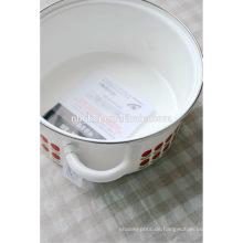 C-Stahl mit Emaille Beschichtung Strait Pot & Essen Kochgeschirr