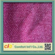 Couleur unie, tissu d'ameublement pour la housse de canapé avec de nombreux coloris