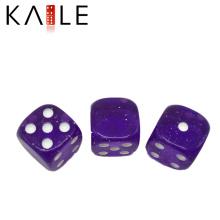Высокое качество 15мм фиолетовый с белыми точками кости