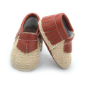 Wholesales Popular Real Leather Baby Moccasins