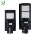 Éclairage extérieur de haute qualité Lampadaire solaire intégré