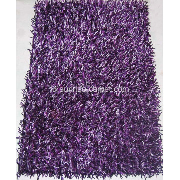 Viscose Campuran Warna Shaggy
