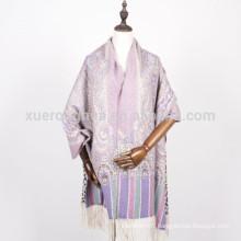 vente en gros turquie femmes paisley châle de laine double face imprimé