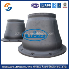 Luhang Marine Cone Tipo Defensas de goma