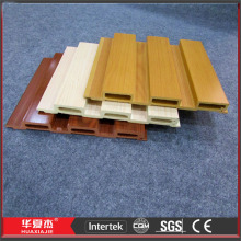 Wood Pattern Panelled Walls / WPC Wall Paneling