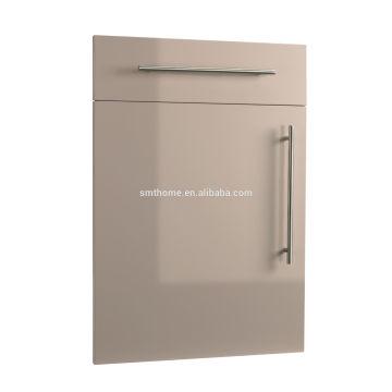 UK market HIGH GLOSS PVC SLAB KITCHEN CABINET DOOR
