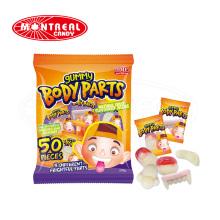 Halloween Gummi Körperteile Jelly Soft Candy